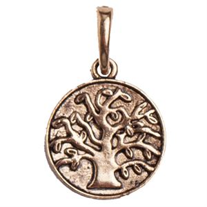 Picture of Gold Tree of Life Droplet