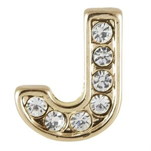 Picture of Gold 'J' Charm