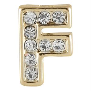 Picture of Gold 'F' Charm