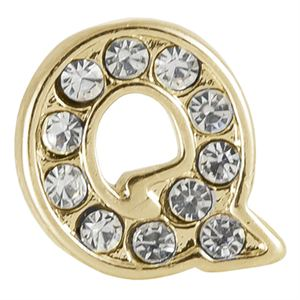 Picture of Gold 'Q' Charm