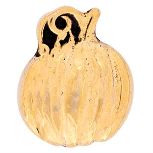 Picture of Gold Pumpkin Charm